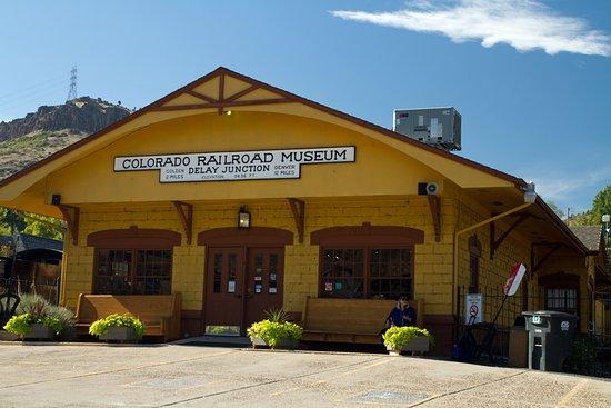 Colorado Railroad Museum: depot