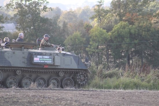 APC 432 tracked vehicle - Picture of Turboventure, Newcastle upon