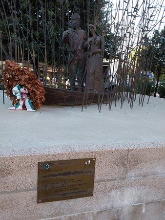 Statue di Giuseppe Garibaldi e Anita: La scultura di Giuseppe Garibaldi e Anita