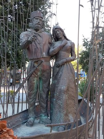 Statue di Giuseppe Garibaldi e Anita: Garibaldi e Anita