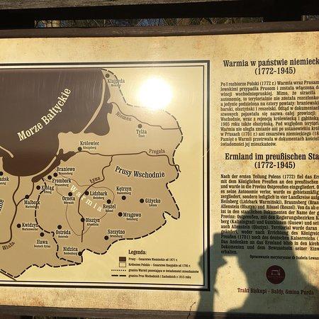 Purda, Polen: Wrota Warmii - trakt biskupi