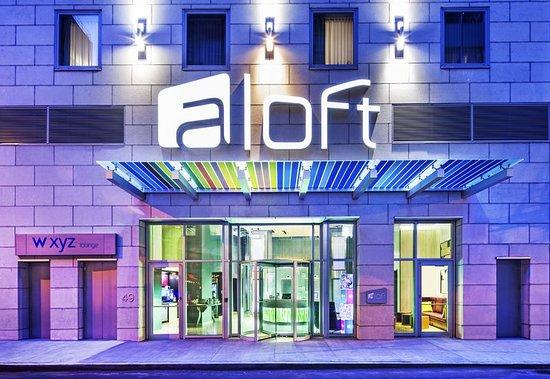 Aloft Manhattan Downtown Financial District Hotel
