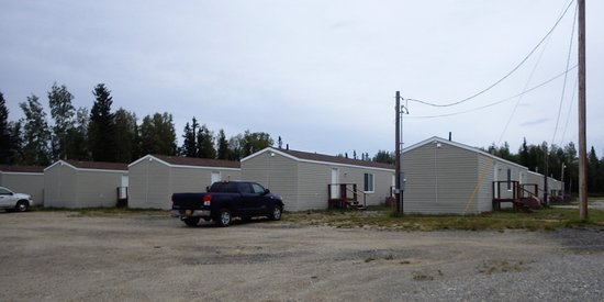 Delta Junction, AK: Exterior of the lodging area