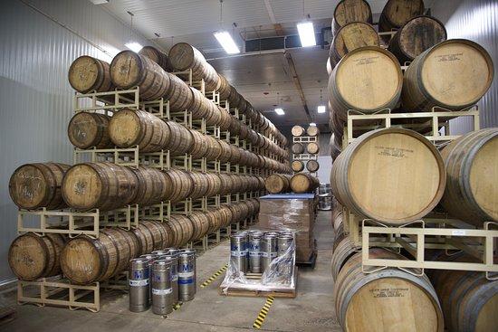 Brewery Barrels