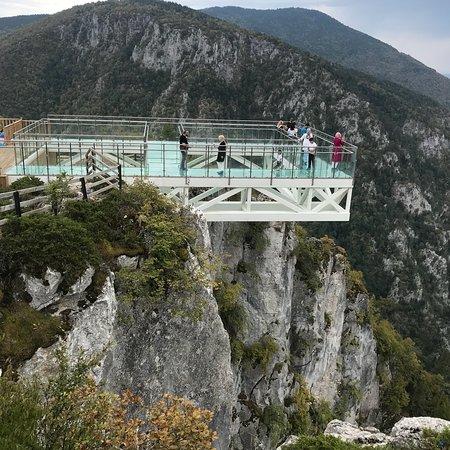 Azdavay, Turkey: Çatak Kanyonu Cam Seyir Terası