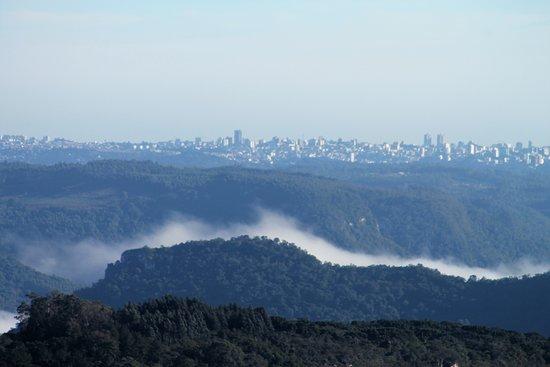 Serra Gaucha, RS: Vista para caxias do sul