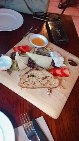 Cheese Platter saves the day!