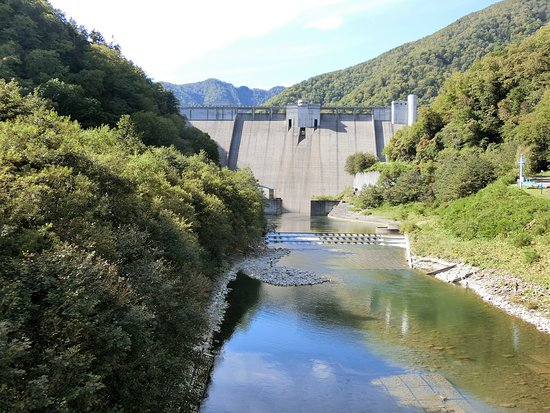 Satsunai River Dam Karyu Park