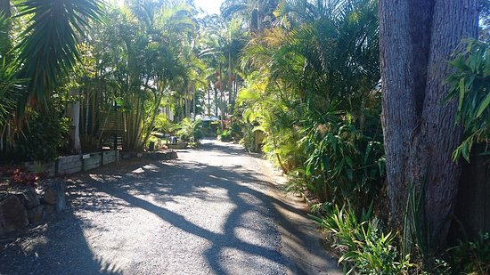 Safety Beach, Australia: Driving to the Lazy Days Bungalow