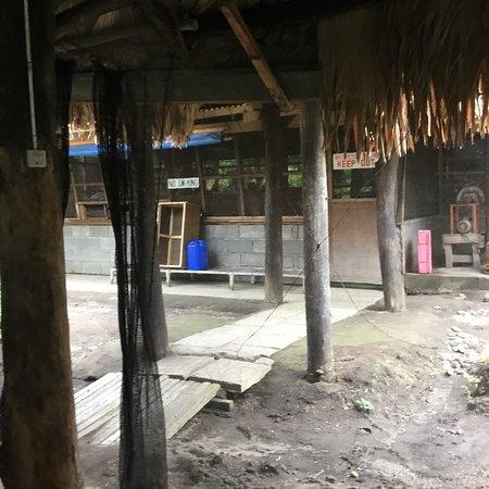 Lanao del Sur, Filippinerna: Outdoor restaurant.