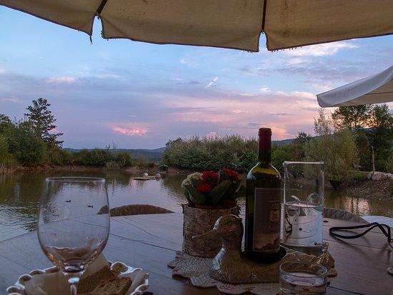 Radicondoli, Olaszország: Sunset dinner