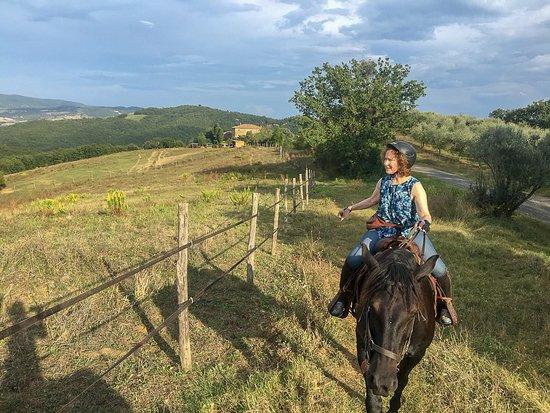 Radicondoli, Olaszország: Beautiful horseback ride