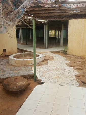Kiffa, Mauretanien: Cortile interno