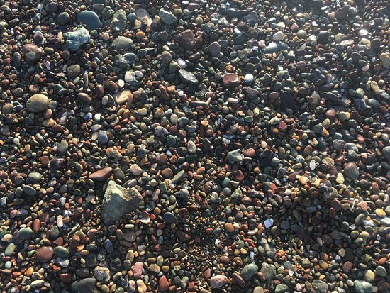Moonstone Beach Stones On The