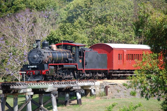Gympie, Australia: Mary Valley Rattler - Steam Locomotive