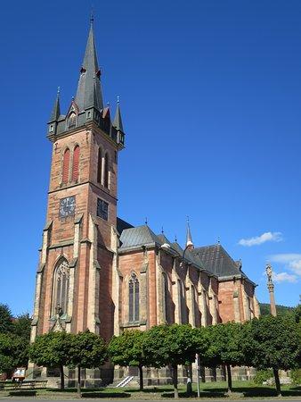Vrchlabi, Republik Ceko: Klášter Svatého Vavřince - přes náměstí naproti vinárně