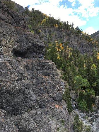 krok upp fläckar i Colorado Springs