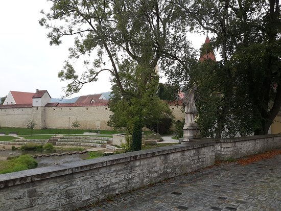 Berching, Německo: Walls on the old town