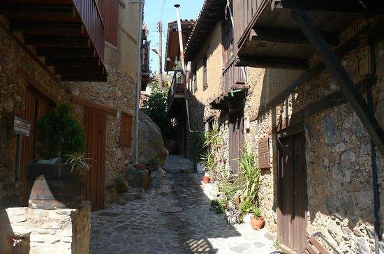 Oude Kakopetria en Agios Nicolaos tis ...