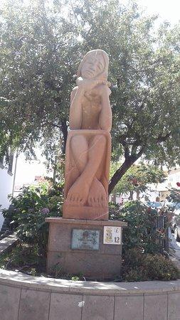 San Bartolome de Tirajana, Spain: Homenaje a la Mujer Tirajanera in St Bartolome