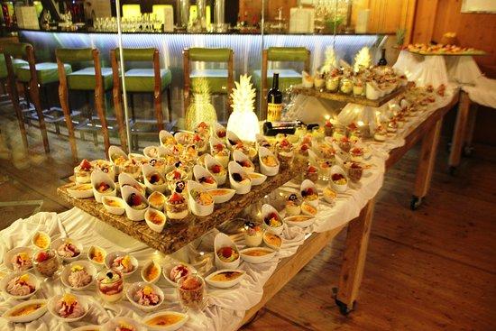 Saas-Almagell, Schweiz: Desserbuffet mit viel Qualität