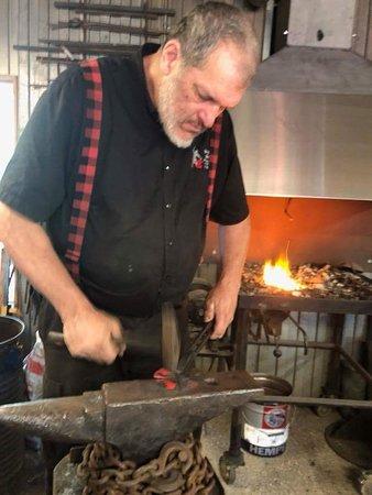 Saint-Raymond, Canada: Atelier de fer forgé