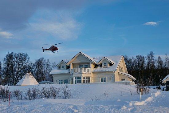 Nord-Lenangen, Norge: Our base-camp