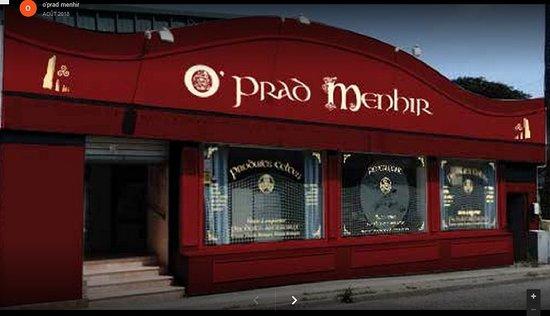 Ploudalmezeau, Francja: Restaurant