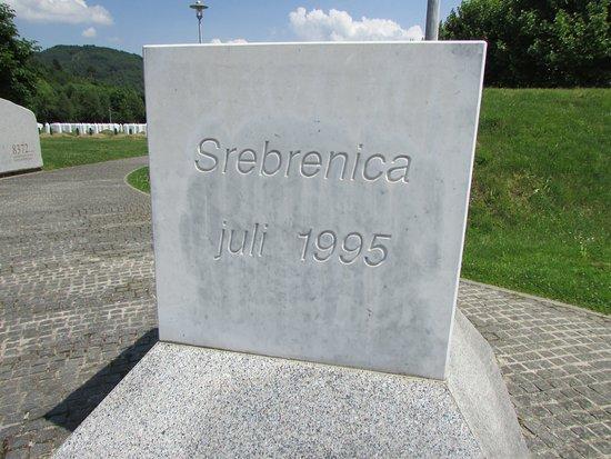 Srebrenica, บอสเนียและเฮอร์เซโกวีนา: Memorial de Potocari