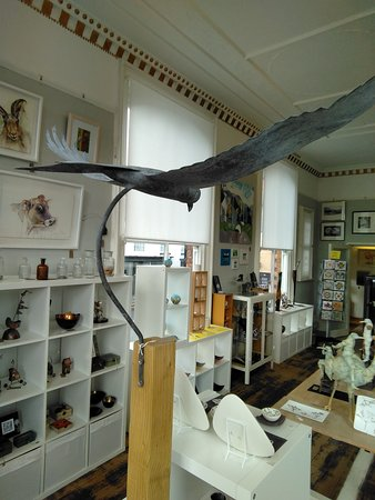 Church Stretton, UK: Bird's eye view of gallery 21 September 2018