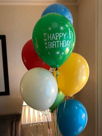 The St Regis Toronto Balloons On Arrival