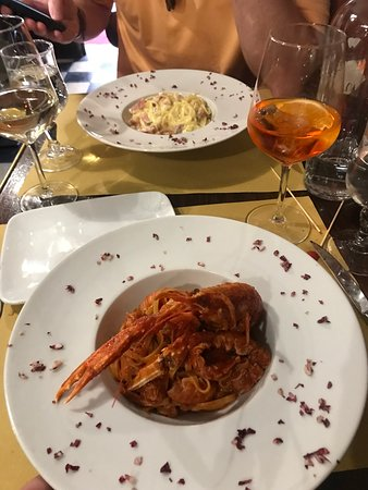 Great food! Very reasonable prices for Venice