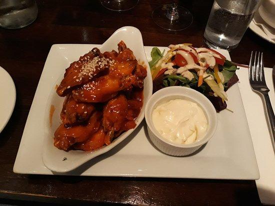 Free Range Irish Chicken Wings Picture Of Farm Restaurants Dublin