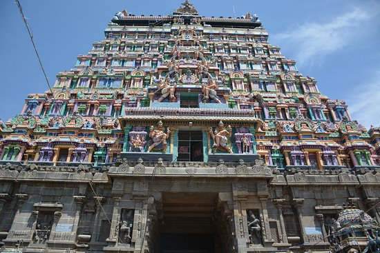 Chidambaram Nataraja Temple: Magnificent Gopuram of Nataraja Temple