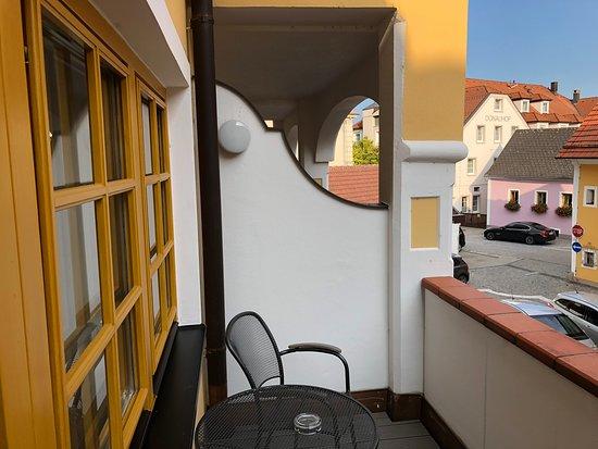 Emmersdorf, Austria: Our balcony