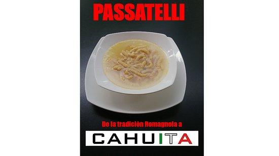 Pizzeria Cahuita: Passatelli