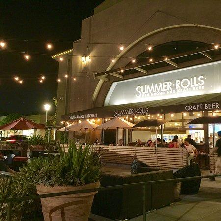 Temple City, Калифорния: Summer rolls