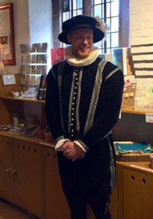 Harvington, UK: Period costume