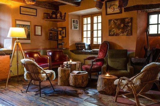 La Ferriere, Francja: un coin salon