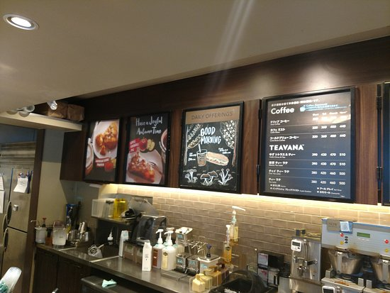 Standard Menu Unique Service Picture Of Starbucks Coffee