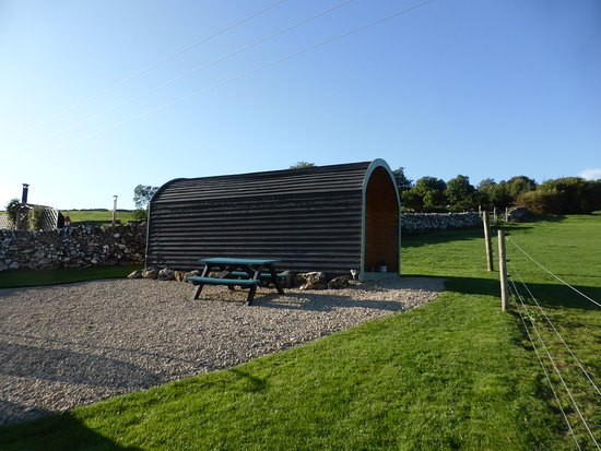 Brassington, UK: Pod in the sunshine