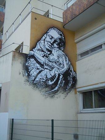 Fresque Mère et Enfant