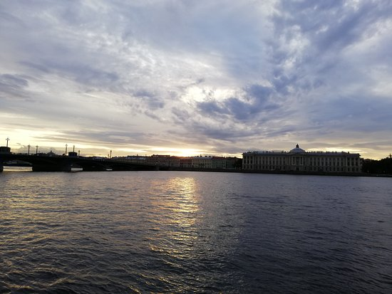 Neva Embankments: закат