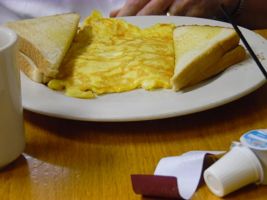 Sting-Ray's Restaurant: CHEESE OMELET