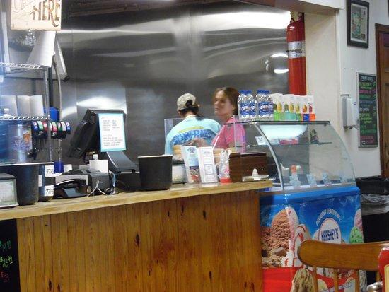 Sting-Ray's Restaurant: PREP AREA