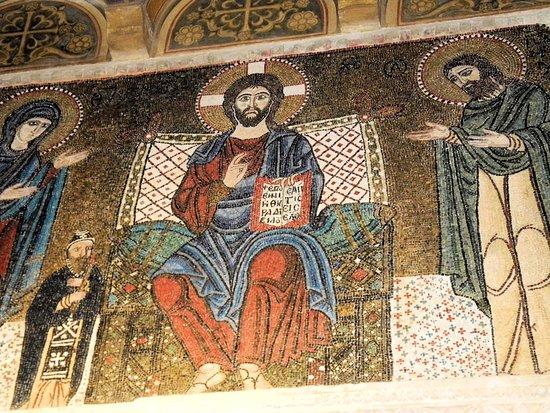 Abbazia Greca di San Nilo: Un mosaico di San Nilo