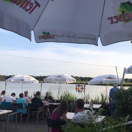 Begrüßung in der Karte - Bild von Restaurant Elbsee, Aitrang ...