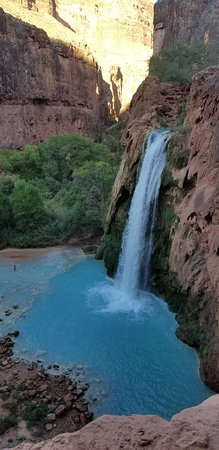 Just Roughin' It Adventure Company: Havasupai Falls located in the Grand Canyon and on one of the most remote Indian Reservations