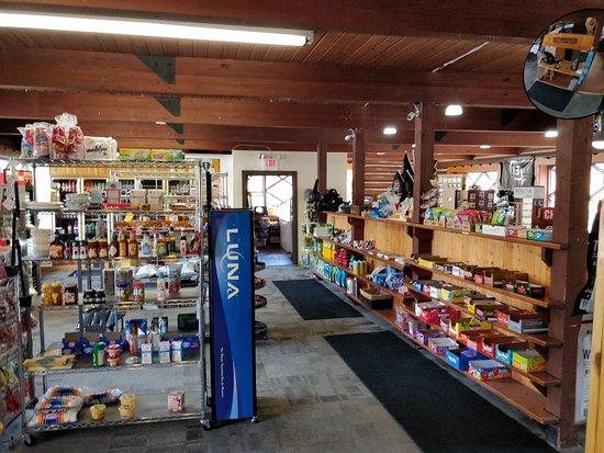 Brighton, Utah: Inside their store