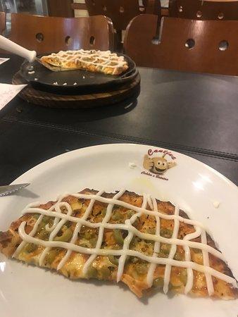 Manhuacu, MG: Pizza Brotinho de Frango